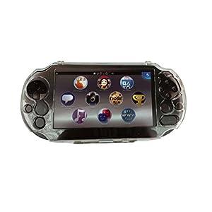 OSTENT Schutzhülle klar Crystal Hard Guard Hülle kompatibel für Sony PS Vita PSV PCH-2000