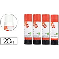 Liderpapel 928010 Adhesiva Glue High Quality Maximum Glide Instant Drying School Use Stick 20 g White