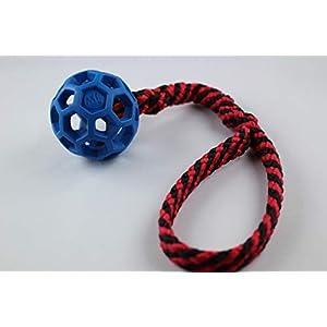 Gitterball mit Zergel/Schlaufe – Zerrspielzeug