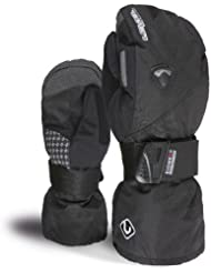 Level Handschuh - Guantes de snowboard para mujer, tamaño 7 UK, color 01 negro
