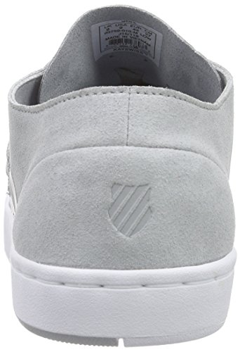 K-Swiss D R Cinch Lo, Baskets Basses homme Gris - Grau (High Rise/white 010)
