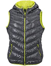 James & Nicholson Damen Jacke Daunenweste Ladies' Down Vest