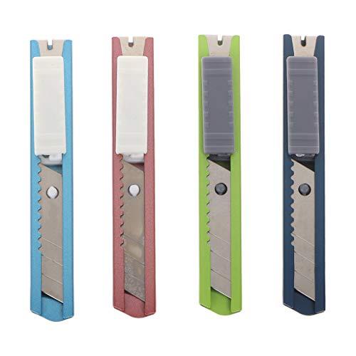Edelstahl Mini Universalmesser Cutter Rasierklinge Werkzeug Sharp Snap Off Messer Einziehbar