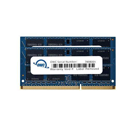 'OWC 8GB (2x 4GB) PC3-10600DDR31333MHz SODIMM 204pin Memory Upgrade Kit für 2011MacBook Pro Modelle, Mid 2010/201154,6cm & 27iMac Modelle, Mid 2011Mac Mini Modelle Modell owc1333ddr3s08s - Mac Mini-modellen