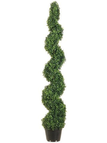 allstate-floral-lpb715-gr-15-m-knock-down-pond-boxwood-spiral-topiary-in-vaso-in-plastica-verde