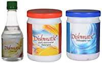Dishmatic Dishwasher Detergent, Salt and Rinse Aid - Combo Pack