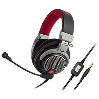 Audio-Technica Ath-PDG1 Premium Gaming Kopfhörer schwarz/rot/Silber