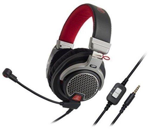 DG1 Premium Gaming Kopfhörer schwarz/rot/Silber ()