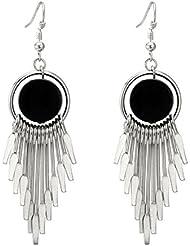 quanjucheer Lange Hänge-Ohrringe für Frauen und Mädchen, für Cocktailpartys