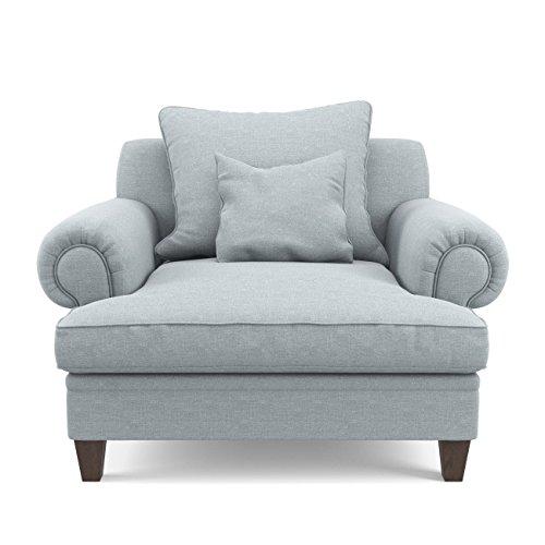 Jellywood®MCRAL XXL Gepolsterter Komfort Sessel Mit Armlehnen, Kissen, Tiefer  Sitzfläche, Sitzhöhe