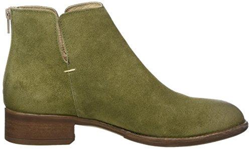 MANAS Damen Carol Chelsea Boots Grün (Green 005)