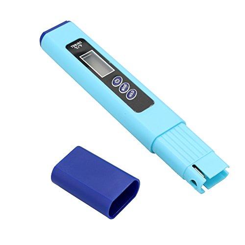Fesjoy TDS Messgerät, 3 in 1 Digitale Wasserqualität Tester mit LCD Display TDS Wassertester Stiftprüfgerät EC-Meter Genaue Wasser Qualität Tester TDS/EC/TEMP-936