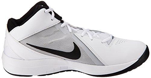 Blanco Ix Negro Baloncesto Platino Aire De Deporte Blanco Overplay Nike Puro Zapatillas De Hombre 5q0xHUT