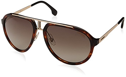 Carrera Unisex-Erwachsene 1003/S HA 2IK Sonnenbrille, Havana Gold/BRWN SF, 58