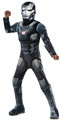 Jungen Marvel War Machine Captain America Civil War Robot Superheld Büchertag Woche Halloween Fach Science Fiction Kostüm Kleid Outfit 3 - 10 jahre - 8-10 (War Machine Kostüm)