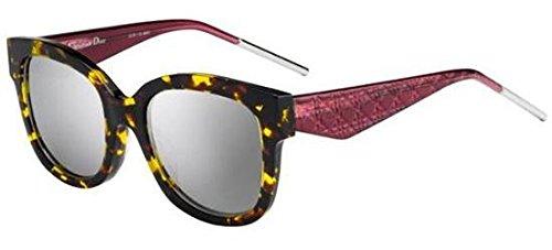 Christian Dior Damen Sonnenbrille Verydior1N Dc Schwarz (Havana), 51 (Christian Havana Sonnenbrille Dior)