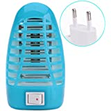 Climberty Bug Zapper, Gnat Trap, Mosquito Killer Lamp, Electronic Insect Killer, Mosquito Trap, Eliminates Most Flying Pests, Killing Mosquitoes Night Lamp (Blue)