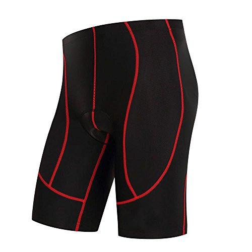 logas Cuissard Cyclisme Shorts Velo avec Sweat...