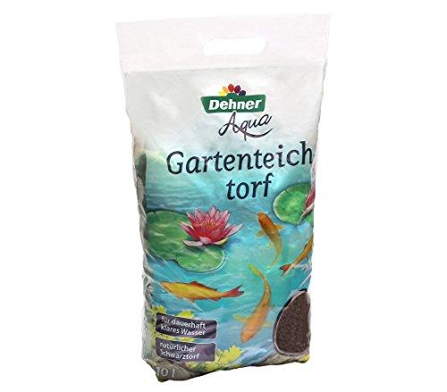 Dehner Aqua Gartenteich-Torf, 10 l, für ca. 4000 l