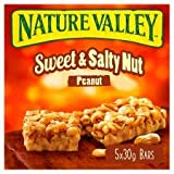 #4: Nature Valley Sweet & Salty Nut Peanut Bars (5 X 30g), 150g