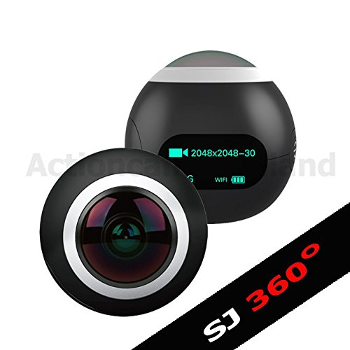 Microware Original Sjcam Sj360 0.96 Inch Wifi 2k Action Helmet Camera 220 Degree Wide Angle Novatek 96660 12mp Cycle Sport Camcorder