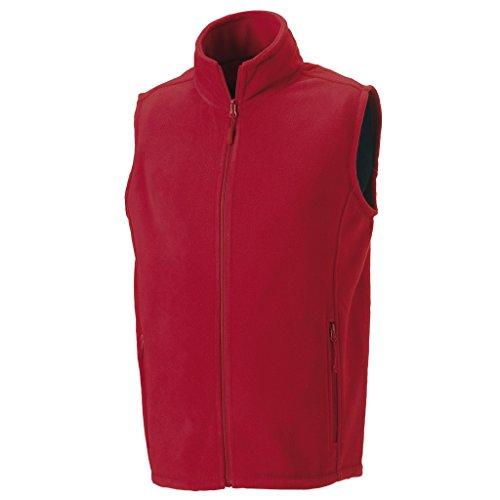 MAKZ - Manteau sans manche - Homme Rouge - Rouge classique