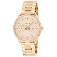 Fossil Womens Quartz Watch, Analog Display and Stainless Steel Strap ES4264