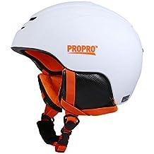 casco de esquí (Blanco, M)