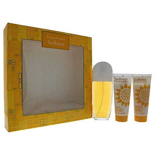 Tournesols EArden Sonnenblumen 100 ml Eau de Toilette + Body Lotion + Body Cream - Sculpting Lotion