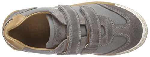 Bisgaard Unisex-Kinder Velcro Shoes Low-Top Grau (112 Pewter)