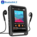MP3 Player, 16GB Bluetooth MP3 Player mit 2.4' LCD Touchscreen, Sports MP3...