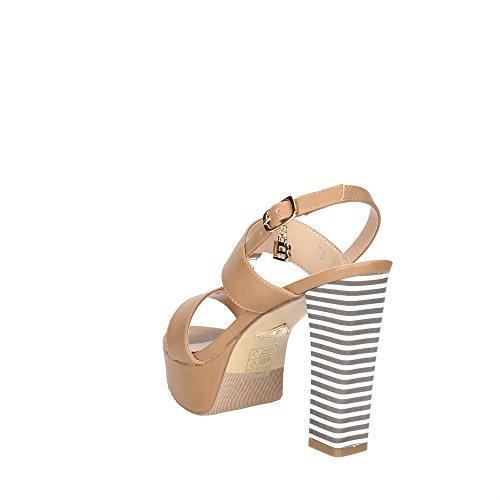 Laura Biagiotti , sandales femme Beige