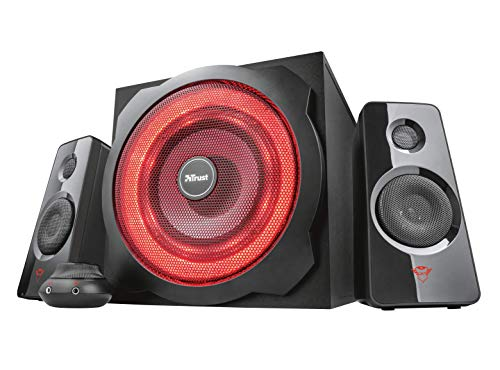 Trust Gaming GXT 4628 Thunder - Set de Altavoces 2.1 con subwoofer...