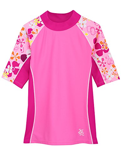 SEASIDE UV-Shirt - Kurzarm, Misty Pink, Gr. 116-122 (6-7 Jahre), 18-1042-6/7