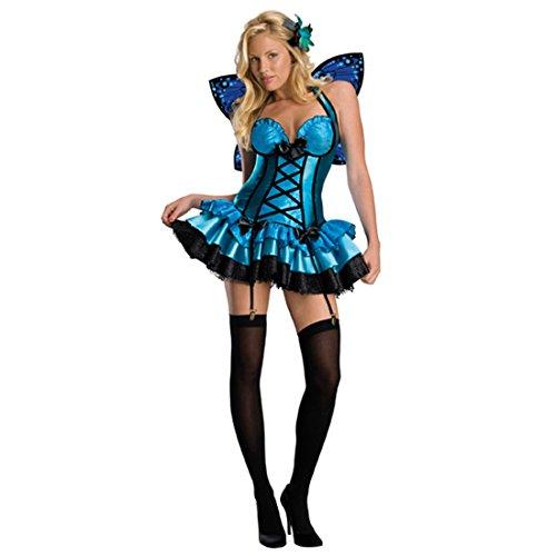 Kostüm Zauberin Sexy - NET TOYS Sexy Feen Kostüm Damen Feenkostüm Elfenkostüm Damenkostüm Elfe Zauberin