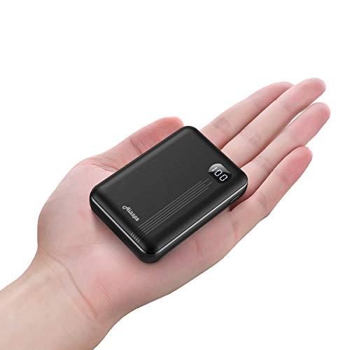 AINOPE Bateria Externa 10000mAh/20000mAh, Cargador Móvil Portátil Power Bank para con 2...