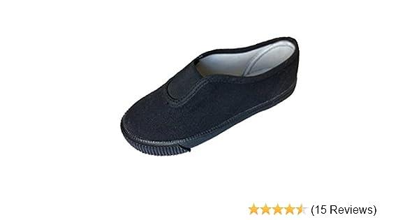 d4e49064219 only uniform school pe plimsolls gym class shoes gusset pumps junior   Amazon.co.uk  Shoes   Bags