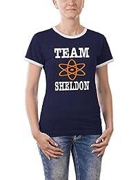 Touchlines Damen - Team Sheldon Girlie Ringer T-Shirt
