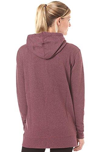 O'Neill Jack's Base Sweat-shirt à capuche zippé Femme Black Rouge vif