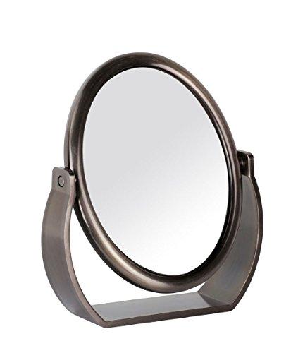 Danielle - Miroir oval - Couleur bronze