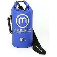 ORANGE MARINE mit Griff und Schulterriemen Wasserdichter Verstärkter Packsack