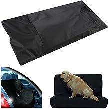Cubierta Asiento Coche Funda para Perros Asiento Coche Impermeable para Perros / Gatos (Negro)