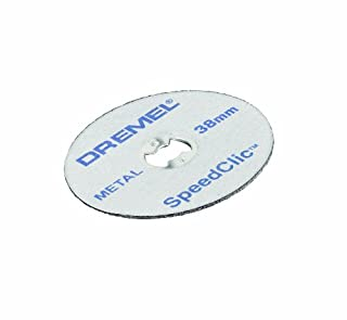 Dremel SC456B Kit de 12 Discos de Corte para Metal. Diámetro 38mm. Diámetro del Vástago 3,2mm (B001DH7X22) | Amazon price tracker / tracking, Amazon price history charts, Amazon price watches, Amazon price drop alerts