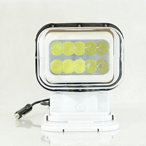 Boot Auto Wireless Fernbedienung Suche Spot-Light Helle LED 50Watt weiß von midmarine
