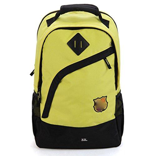Ultra Leichte Wanderrucksack Trekking Rucksack Daypack Wasserdichte Outdoor Sport Unisex Tasche,Yellow Yellow