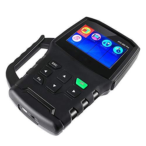 Scanner per auto OBD2 Ispezione del motore ABS SRS TPMS Car Diagnostic Instrument lettura e cancellazione del codice di errore parametri di lettura in tempo reale test di attivazione dei component