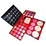 ADS Makeup-Kit Laptop With 24 Color Eye Shadow,Blusher,Compact Etc- A8199 - Multi-Coloured 50g