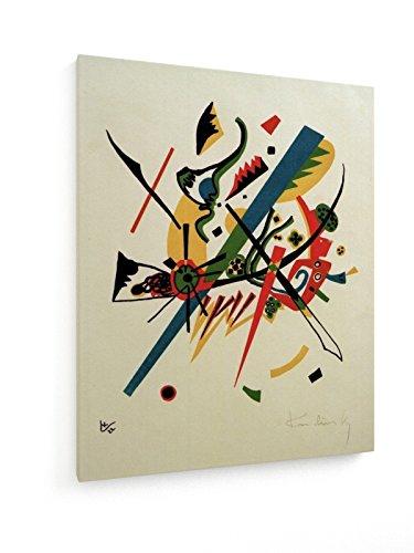 Wassily Kandinsky - Kleine Welten I - 40x50 cm - Textil-Leinwandbild auf Keilrahmen - Wand-Bild -...