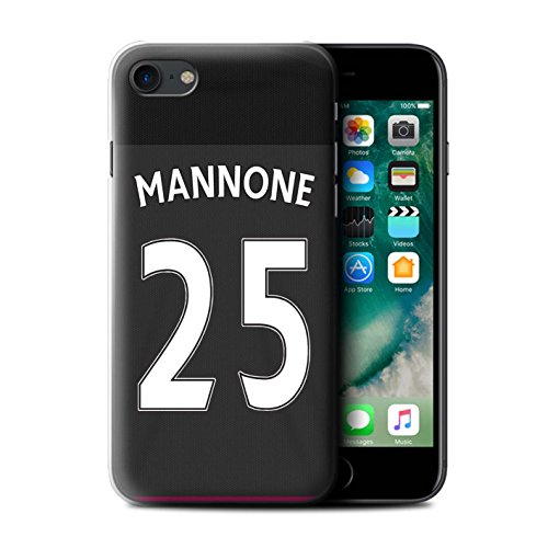 Offiziell Sunderland AFC Hülle / Case für Apple iPhone 7 / Defoe Muster / SAFC Trikot Away 15/16 Kollektion Mannone