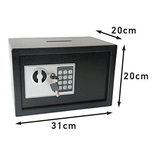 Tresor Safe mit Einwurfschlitz 5 Kgs (Schloss Mini-tresor Mit)